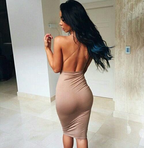 vestido entallado