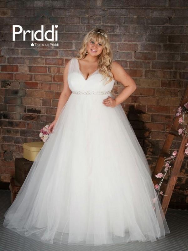 hermosos vestidos de novia para chicas gorditas