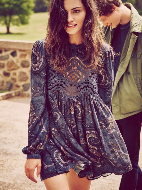 Vestidos para no perder tu estilo hippie en un evento formal