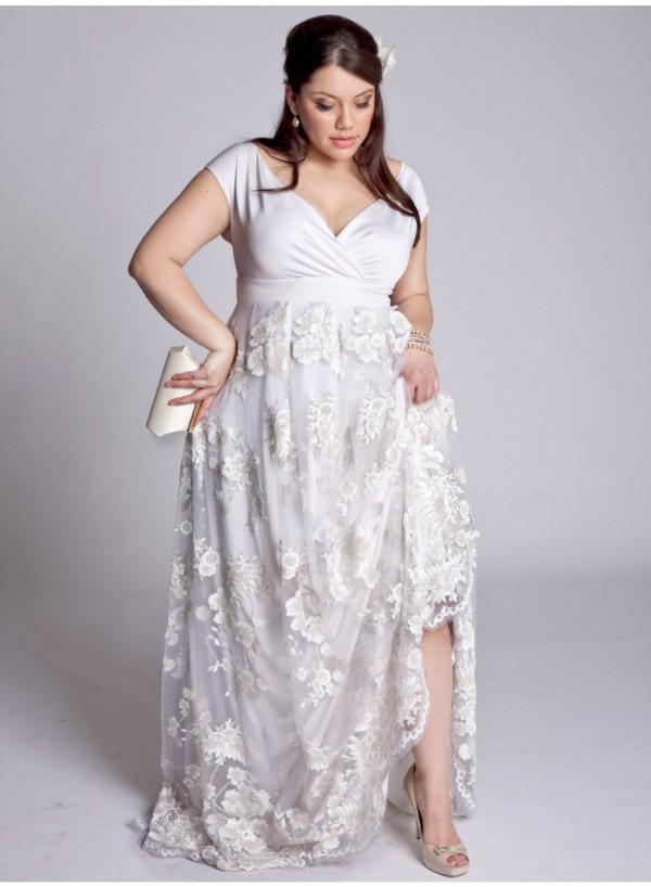 Vestidos corte princesa largos para gorditas