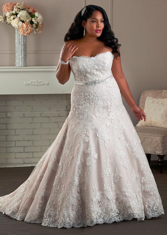 Vestidos de novia corte sirena lisos