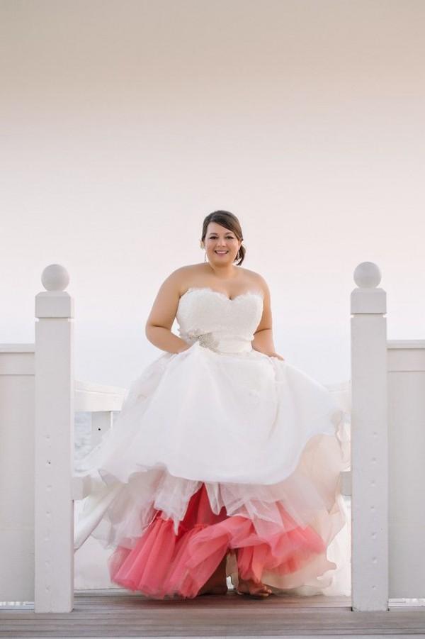 vetido novia rosa