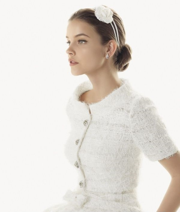 vetsido de novia lana