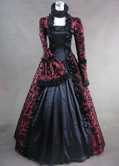 victoriano vestido