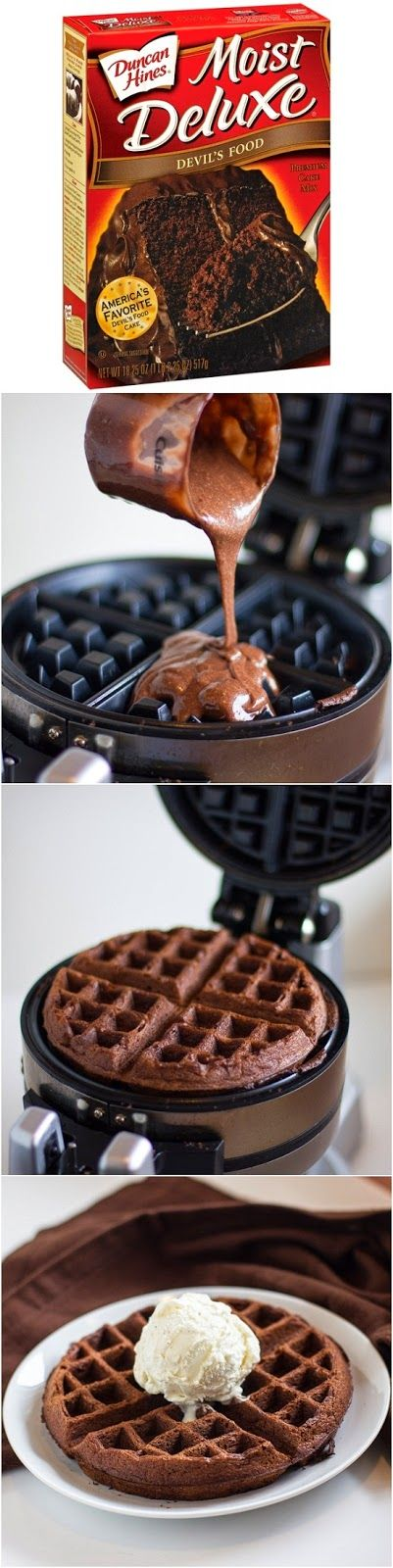 waffle chcolate