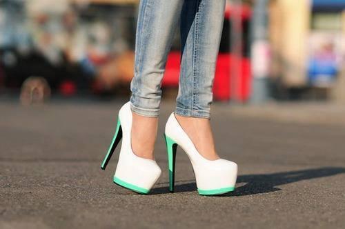 zapatos menta