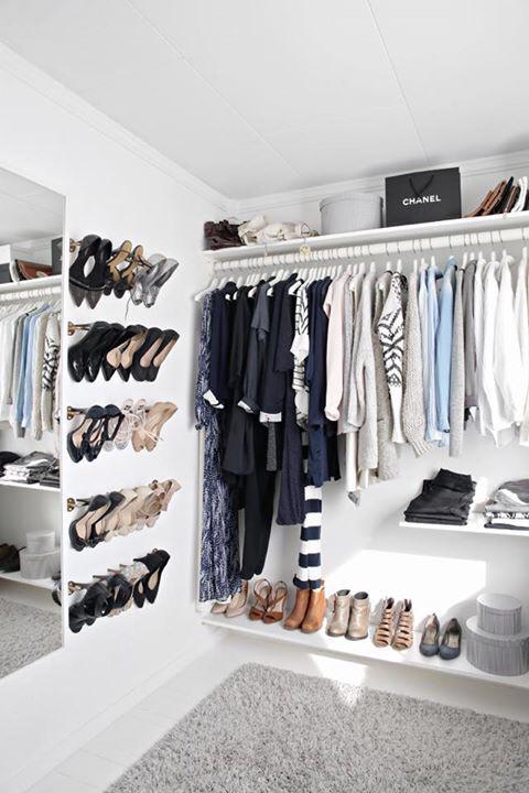 zapatos organizados