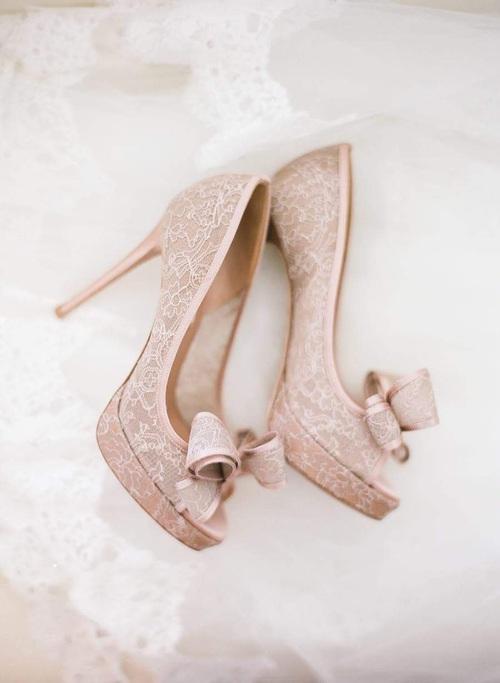 zapatos tacon de novia