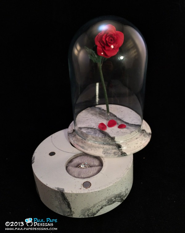 Enchanted Rose Engagement Ring Box