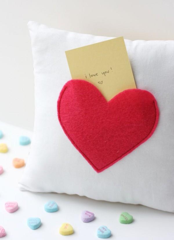 almohada corazon