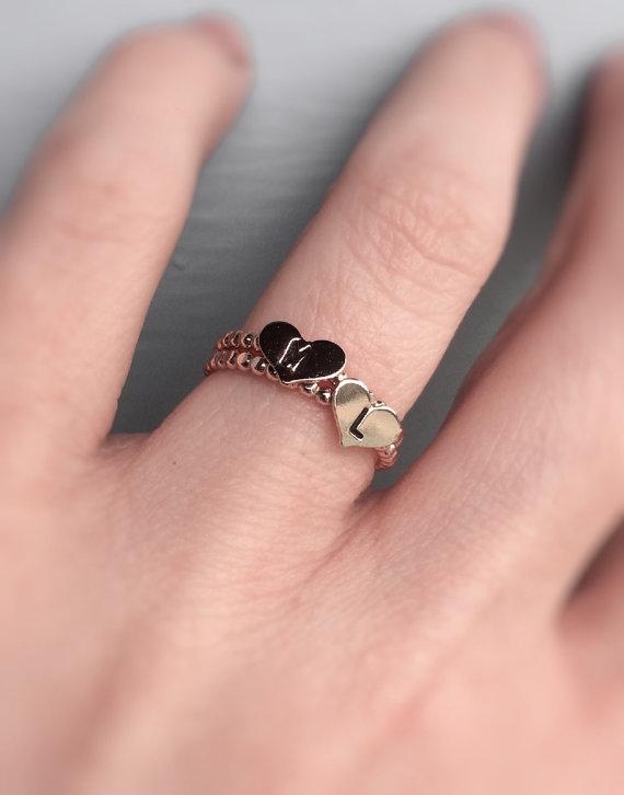 anillos iniciales