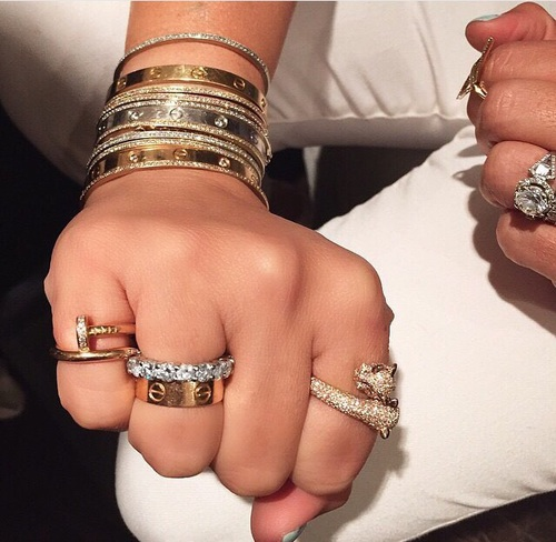 anillos lujosos