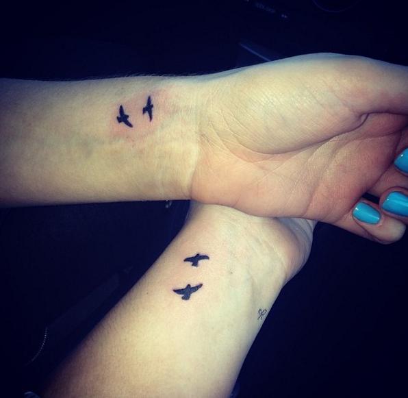 Tatuajes Amigas 20 tatuajes sólo para mejores amigas