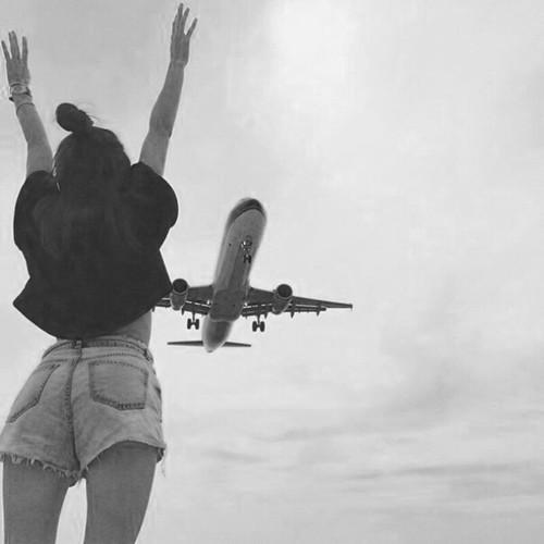 avion chica