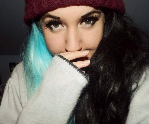 bicolor cabello