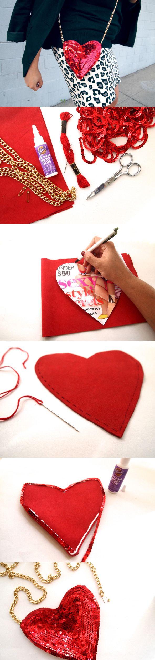 bolsa corazon