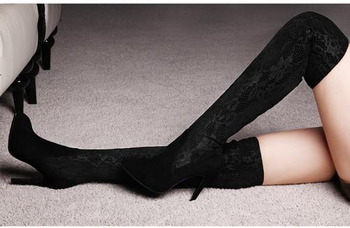 colores armoniosos paquete elegante y resistente varios estilos 17 Botas arriba de la rodilla que son pura sensualidad