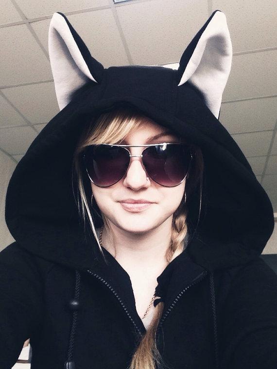cat hoodies
