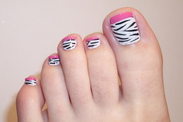 cebra toes