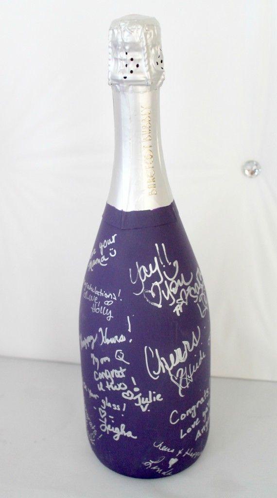 champagne con mensajes