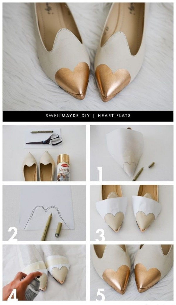 corazon zapatos