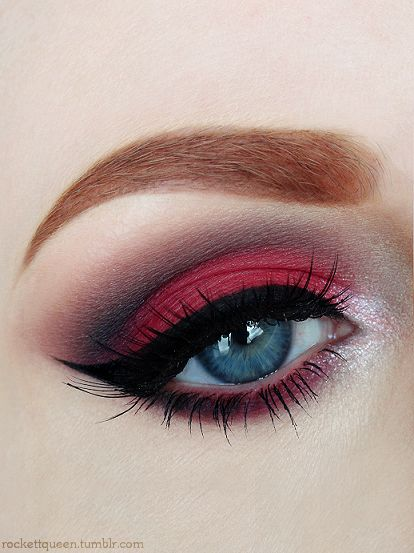 eyeshadow-red