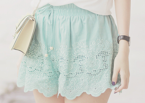falda pastel
