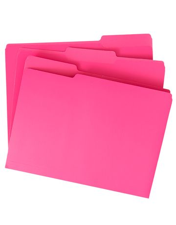 folder rosa