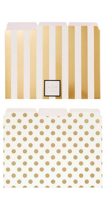 folders dorados