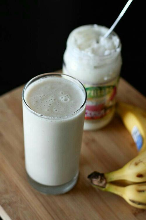 leche y platano