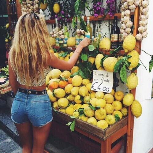 lemon hair