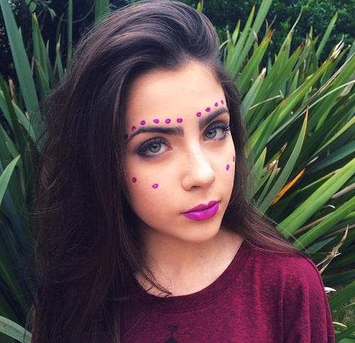 maquillaje bicho raro