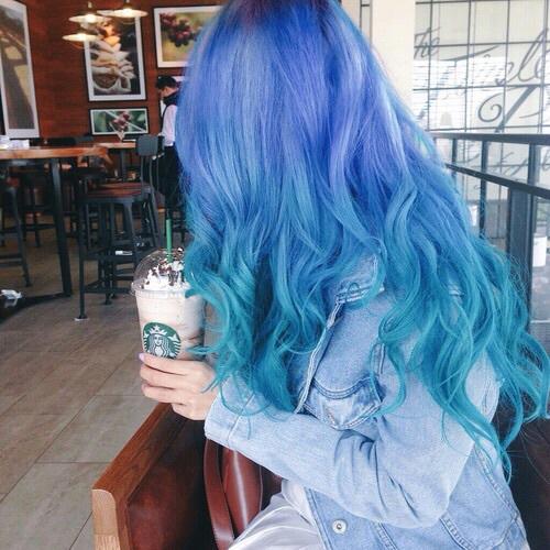 ombre azul