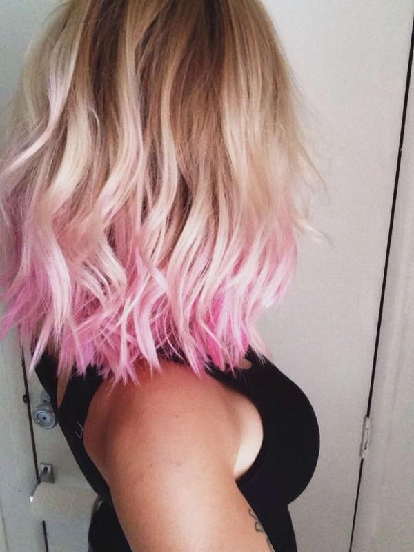ombre rosa