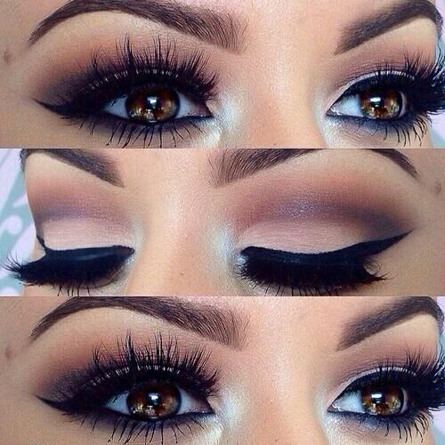 oscuro ojos