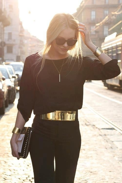 outfit negro