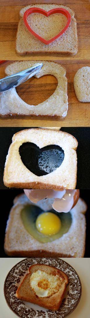 pan y huevo