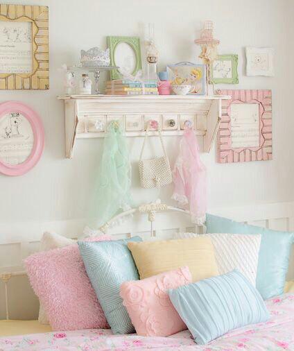 pastel habitacion