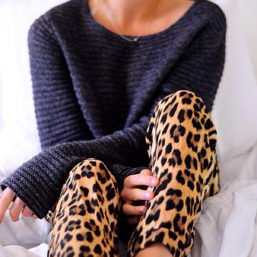 pijama animal print