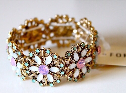 pulsera- flores