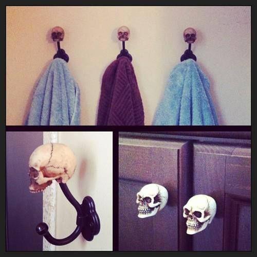Ideas hermosas para agregarle cráneos a tu habitación