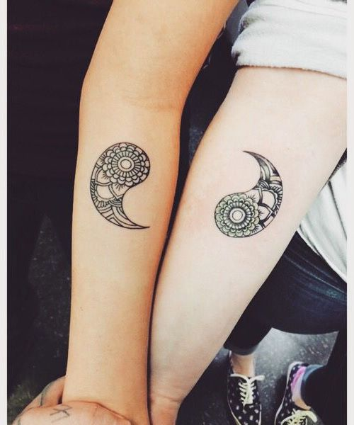 25 tatuajes especiales para mam e hija for Funny sister tattoos
