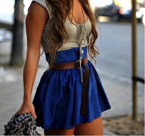 vestido cinturon