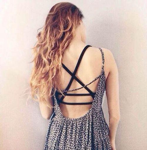 vestido escotado espalda