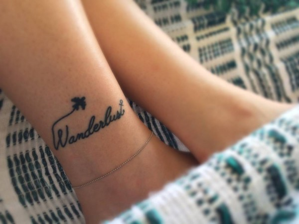 wanderlust tatuaje