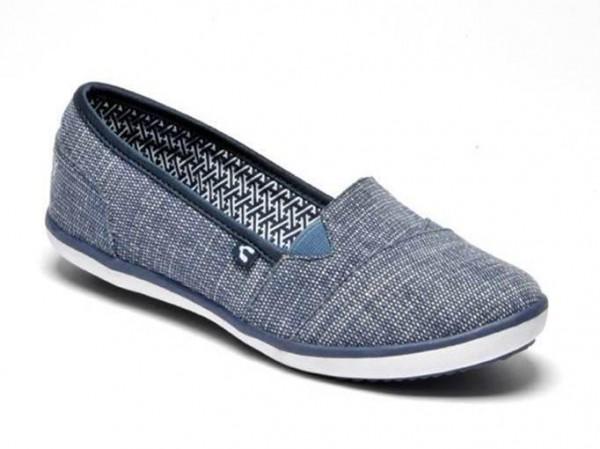 zapatos mezclilla