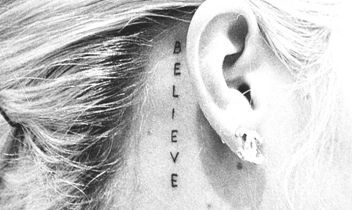 believe tatuaje cute