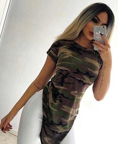 blusa camuflaje