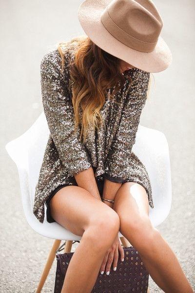 blusa glitter