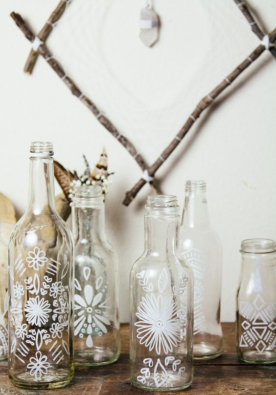 boho botellas